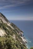 Coastline of the the Island of Elba near Chiessi, Tuscany, Italy Stock Photos