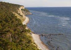 Coastline on the island Gotland.GN Royalty Free Stock Photography