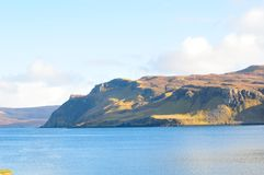 Coastline on the Isle of Skye. Stock Photo