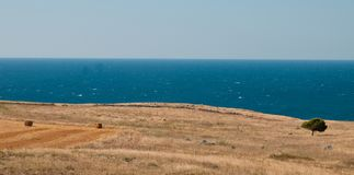 Coastline in Italy Stock Photography