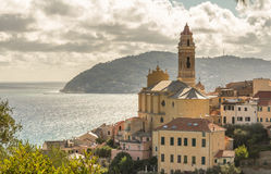 Coastline of italy Stock Photos
