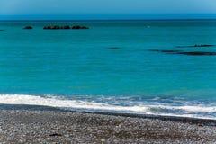 Coastline of Kaikoura, New Zealand Royalty Free Stock Images