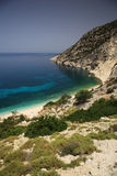 Coastline in Kefalonia Royalty Free Stock Image