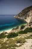 Coastline in Kefalonia Royalty Free Stock Image