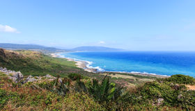 Coastline of Kenting National Park, South Taiwan Stock Photos