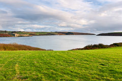 Coastline in Kinsale. Ireland Royalty Free Stock Photos