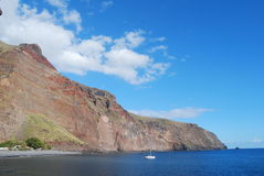 Coastline of La Gomera Royalty Free Stock Photo
