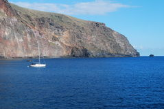 Coastline of La Gomera Stock Image