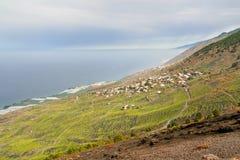 Coastline of La Palma Royalty Free Stock Image
