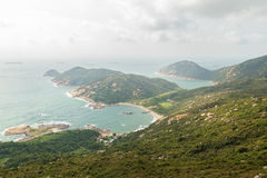 Coastline at the Lamma Island Stock Image