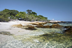 Coastline landscape in eastern part of Ko Samet island Royalty Free Stock Photo