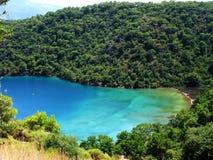 Coastline landscape of mediterranean sea turkey Royalty Free Stock Image