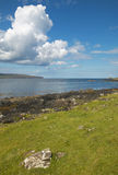 Coastline landscape in Skye isle. Scotland. UK Royalty Free Stock Images