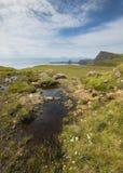 Coastline landscape in Skye isle. Scotland. UK Stock Images