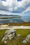 Coastline landscape in Skye isle. Scotland. UK Stock Photos