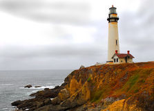 Coastline lighthouse Royalty Free Stock Photography