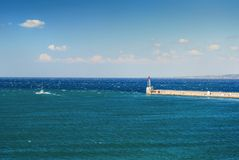 Coastline at Marseilles Royalty Free Stock Image