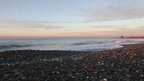 Coastline lock rifght side view. stock video