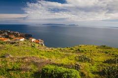 Coastline of Madeira island Stock Photos