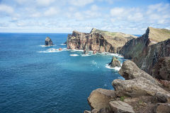 Coastline of Madeira Stock Photos