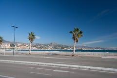 Coastline at Malaga Stock Images