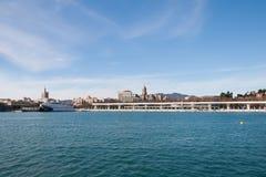 Coastline at Malaga Stock Photography