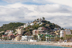 Coastline at Malaga Royalty Free Stock Photo
