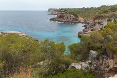 Coastline of Mallorca. Royalty Free Stock Photo