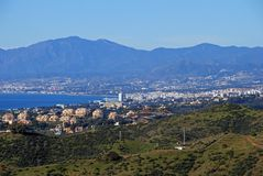 Coastline, Marbella, Spain. Stock Photography