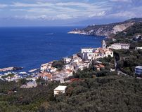 Coastline, Marina della Lobra, Italy. Stock Images