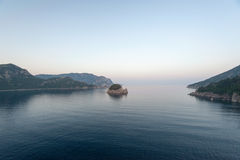 Coastline in Marmaris Icmeler Royalty Free Stock Image