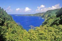 Coastline of Maui, Hawaii Stock Photo