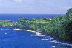Coastline of Maui, Hawaii Stock Image
