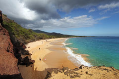Coastline of Maui, Hawaii Royalty Free Stock Photography