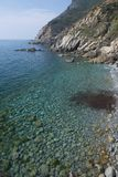 Coastline between Moneglia and Riva Trigoso Royalty Free Stock Photo