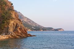 Coastline of Montenegro Royalty Free Stock Photography