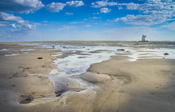 Coastline in Morondava Stock Image
