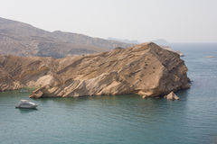 Coastline by Muscat Royalty Free Stock Image