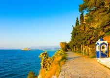 Coastline of Nafplio Stock Photos