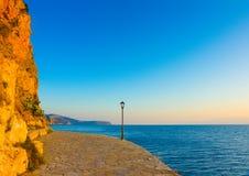 Coastline of Nafplio Stock Photography