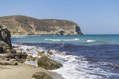 Coastline of Naxos, Greece Royalty Free Stock Photo