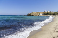 Coastline of Naxos, Greece Royalty Free Stock Images
