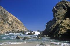 Coastline Near Big Sur, California Stock Images