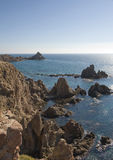 Coastline near Cabo De Gata Stock Photos