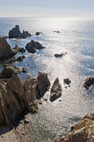 Coastline near Cabo De Gata Royalty Free Stock Images