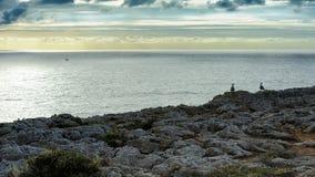 Coastline near Fortaleza de Sagres, Portugal Stock Image