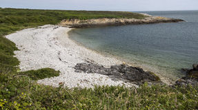 Coastline near Holyhead in Anglesey, Wales, UK Stock Photo