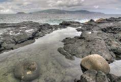 Coastline - Azores island Pico Stock Photo