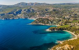 Coastline near Marseille in France Royalty Free Stock Images