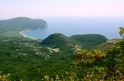 Coastline near Petrovac, Montenegro Stock Photography